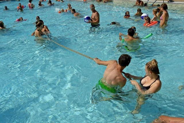 Ein Fest mit Umkirchs Schwimmern