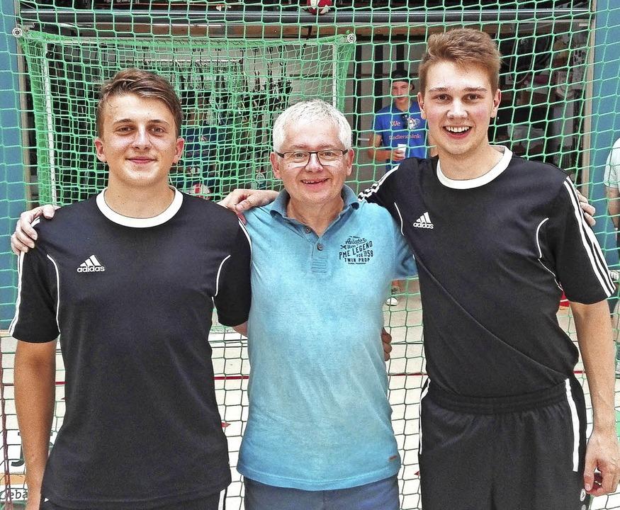 Die Prechtäler  Marius Becherer (links...Naurod den Sprung in die zweite Liga.   | Foto: privat