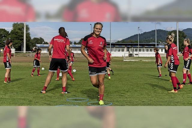 Trainingsauftakt der SC-Fußballerinnen