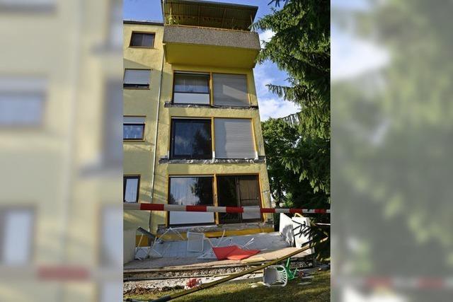 Balkon abgestürzt