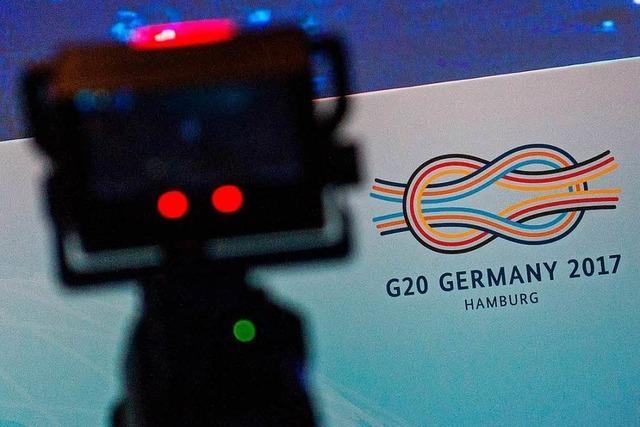 G 20: Bundespresseamt entzog erteilte Akkreditierungen