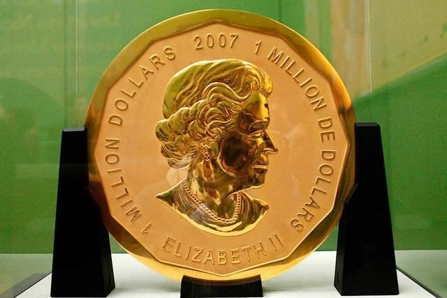 Spektakulärer Goldmünzenraub: Verdächtige gefasst
