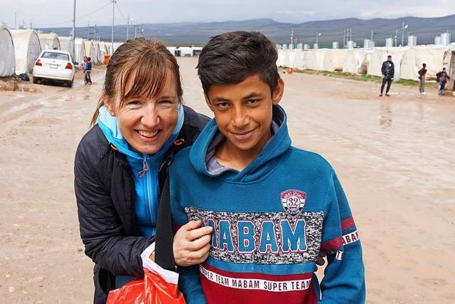 Frau aus Gundelfingen hilft in Flüchtlingslagern im Nordirak