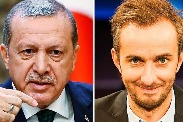 Erdogan geht im Streit mit Böhmermann in Berufung