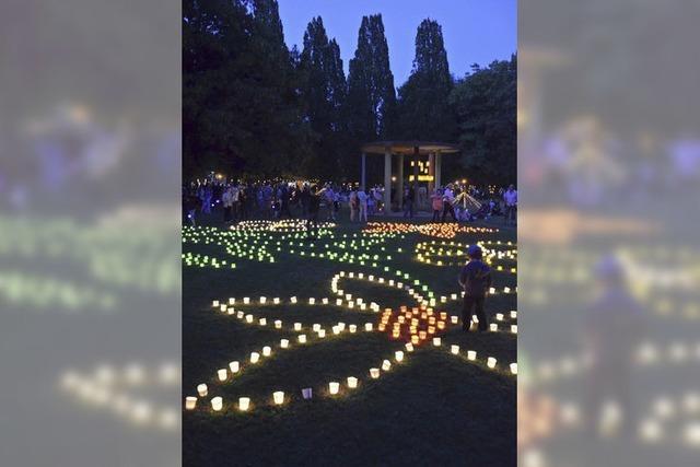 Lichterfest in Bad Krozingen