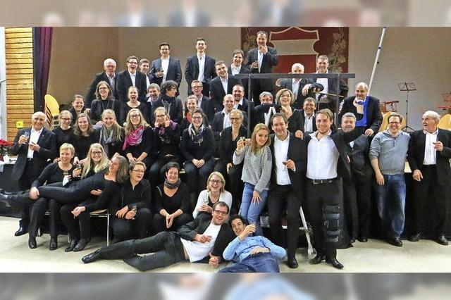 Stadtmusik und Stadt in Löffingen