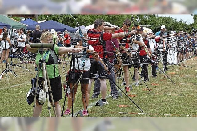 Beste Bedingungen für Bogensportler