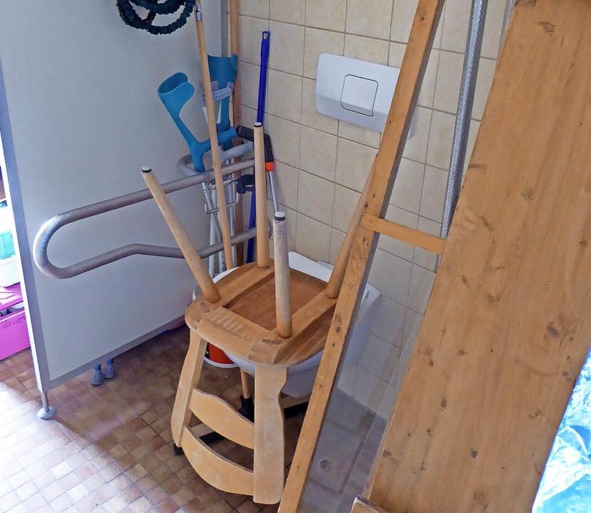 Die Behindertentoilette  | Foto: Peter Stellmach