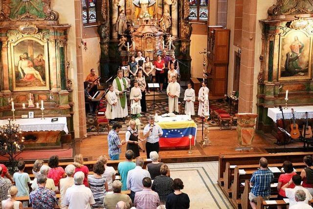 Gedenkgottesdienst für die Auswanderer in Colonia Tovar