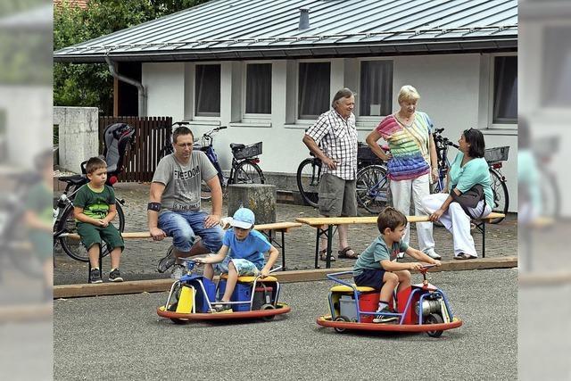 Kinderspaß nach Patrozinium