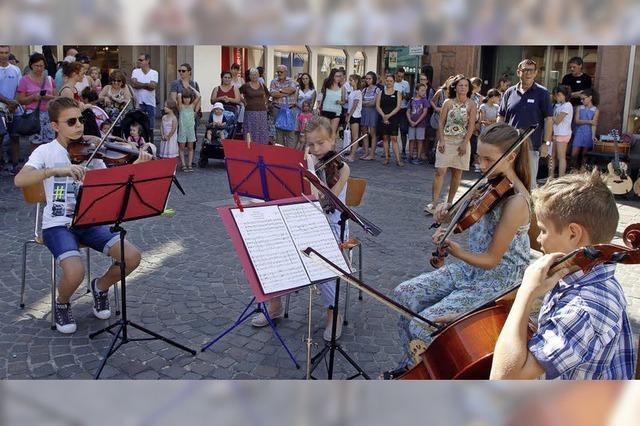 Musik in der Innenstadt
