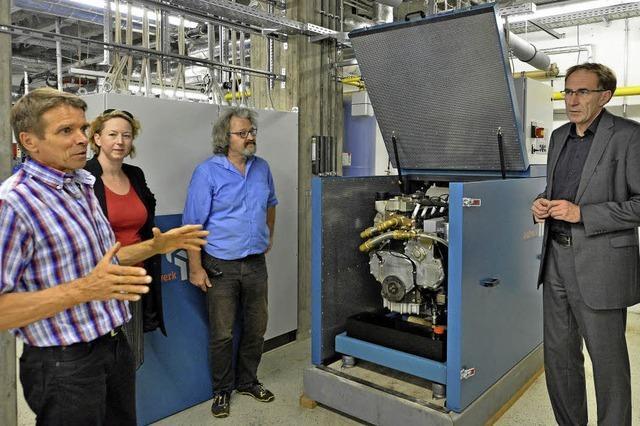 Neues Blockheizkraftwerk versorgt das Droste-Hülshoff-Gymnasium mit Wärme und Strom