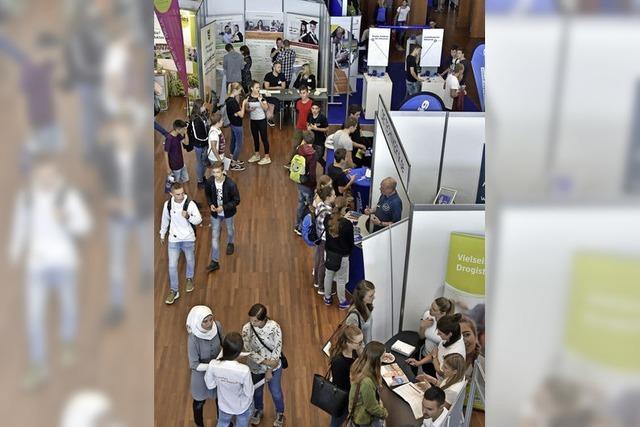 """Die Jobmesse """"Vocatium"""" setzt auf Eins-zu-eins-Kontakte mit Arbeitgebern"""