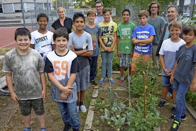 Wenn Schüler zu Gärtnern werden