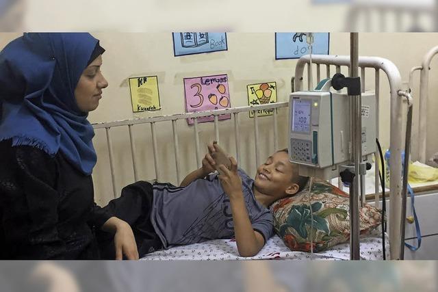 Die Mutter darf nicht mit ins Krankenhaus