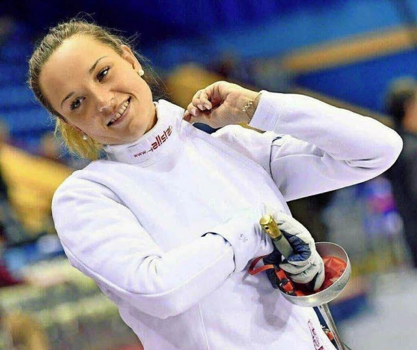 Alexandra Ehler, die  Nummer zwei der ...st bei der Heim-WM  wohl nicht dabei.   | Foto: zbv