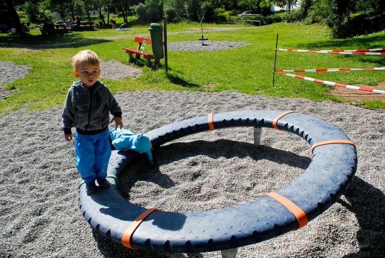 Die Jungs von Leony Stabla lieben den Spielplatz.  | Foto: Leony Stabla