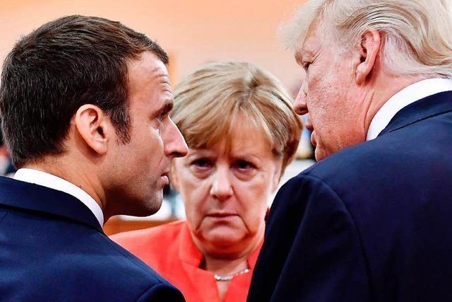 Trump besucht Paris – Macron scheut den Konflikt nicht