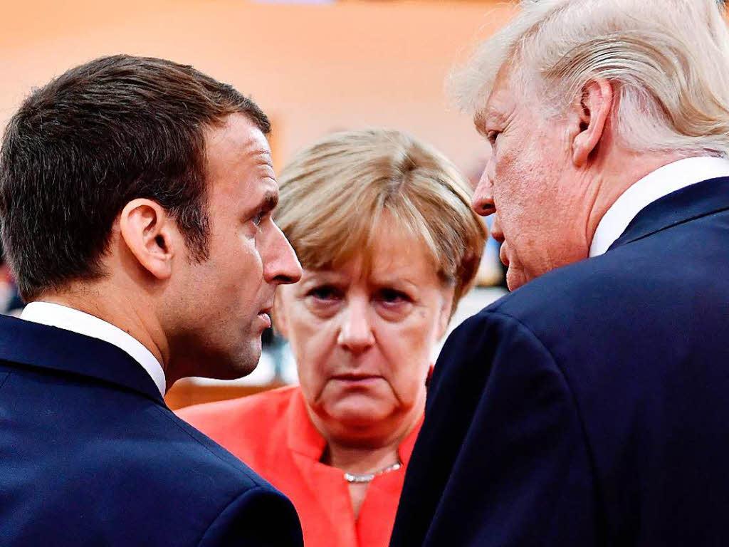 Merkel vertröstet Macron auf die Zeit nach der Wahl