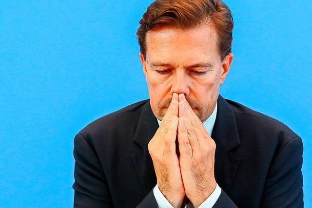 Seibert weist Kritik am Ausschluss von Journalisten zurück