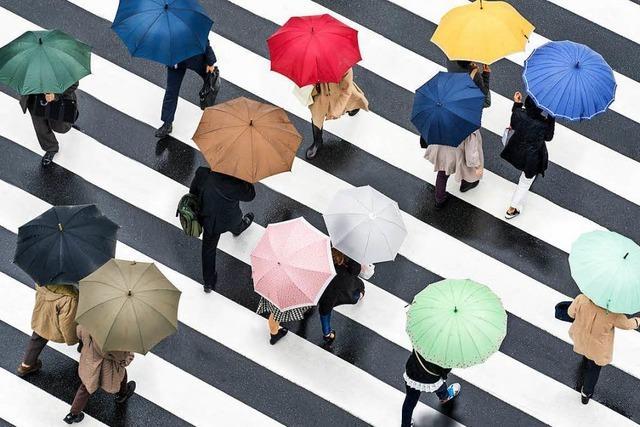 Schmuddelwetter und Regen – wer profitiert davon?
