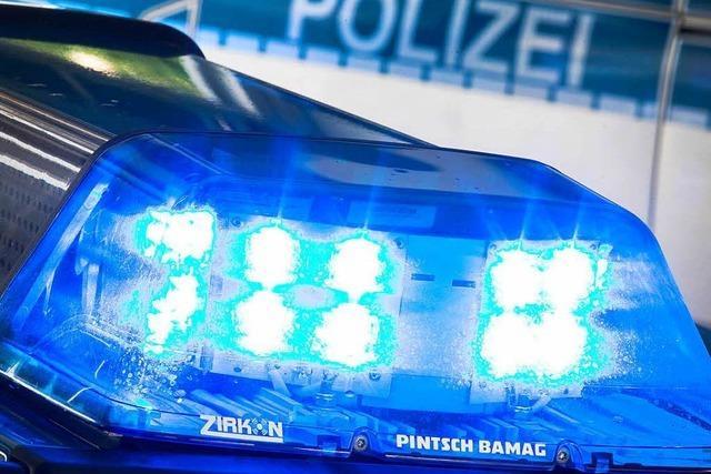 Mülleimer in Bad Säckingen angezündet und in den Rhein geworfen