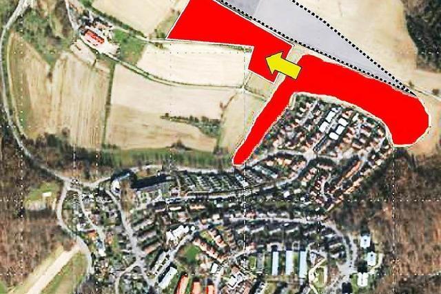Bürger kritisieren das Lörracher Baugebiet Salzert Nord
