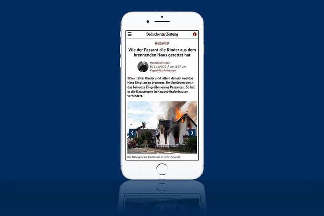 Die mobile BZ-Website erhält eine neue Startseite und ein neues Design