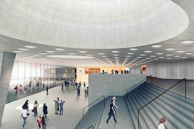 Die St. Jakobshalle in Basel wird eine Eventstätte vom Feinsten
