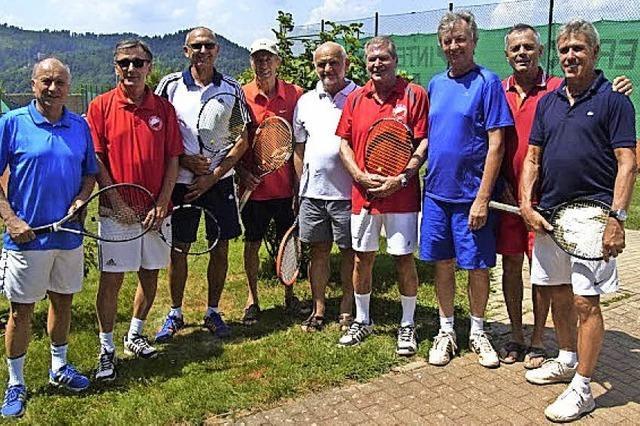 Die Tennisclub-Senioren steigen auf