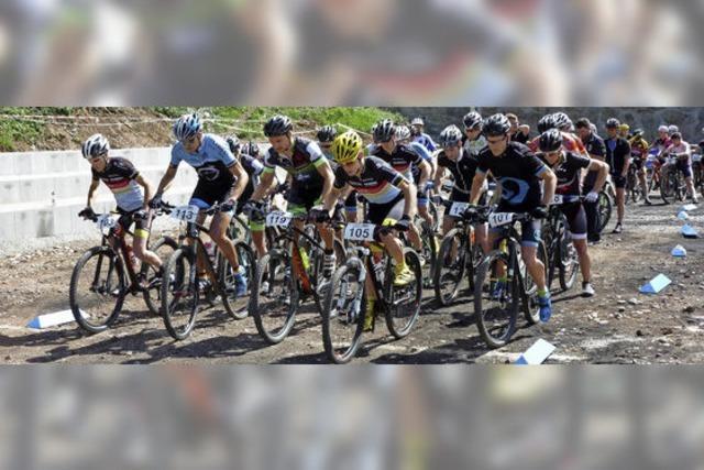 Mountainbiker ermitteln ihre Meister