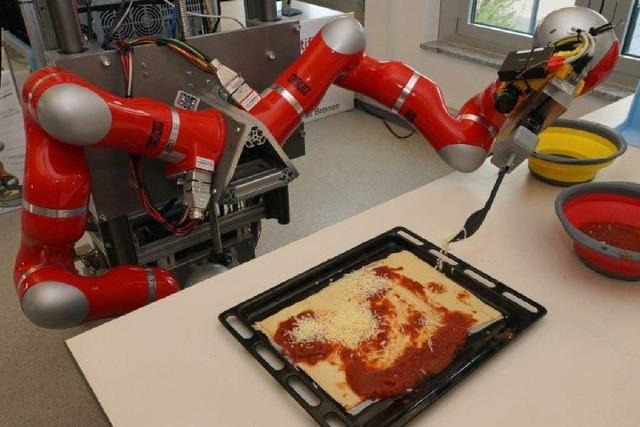 Bei der Pizza geht manchmal noch was daneben