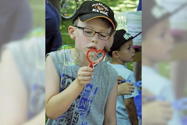Jede Menge Spiel und Spaß beim Lahrer Kinderfestival