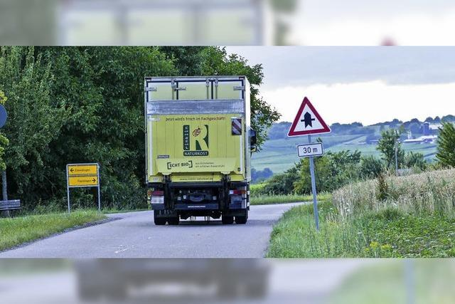 Eimeldingen will dort kein Lkw-Verbot