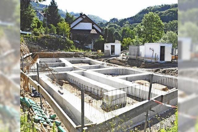 Rege Bautätigkeit in Raitbach