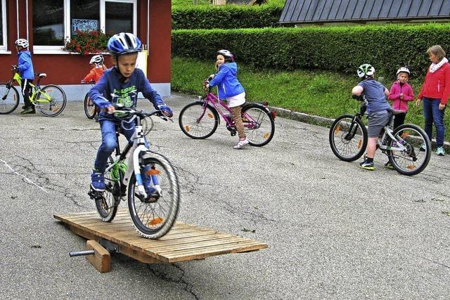 Training für junge Radler