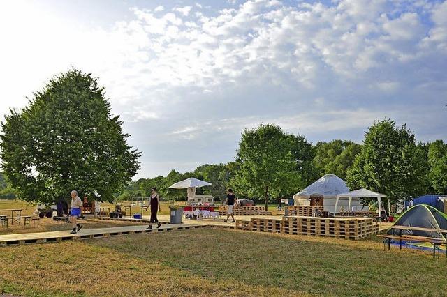 Bei den Dietenbach-Festspielen werden Luftschlösser gebaut und Visionen gewagt