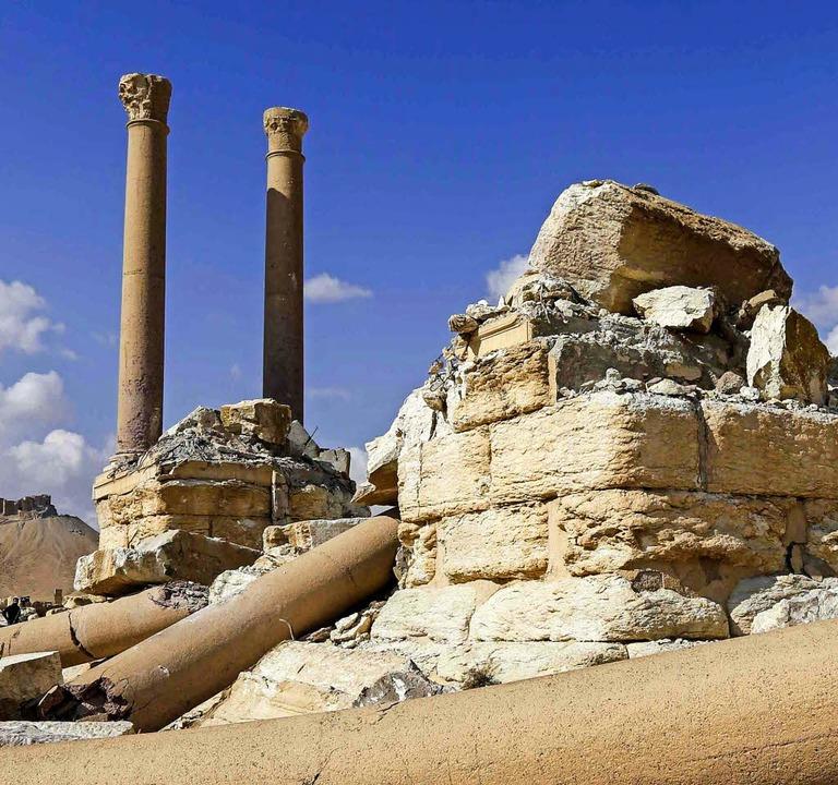 Trümmer in Palmyra   | Foto: AFP