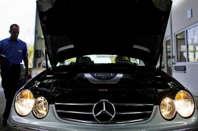 Vorwürfe gegen Daimler in Abgasaffäre weiten sich aus