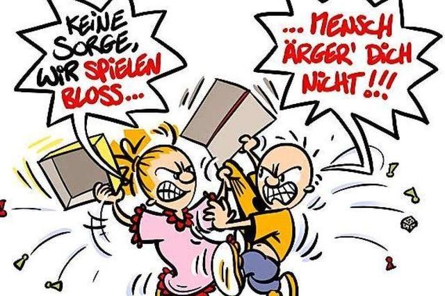 Lucy Backfisch: Mensch ärger' dich nicht!