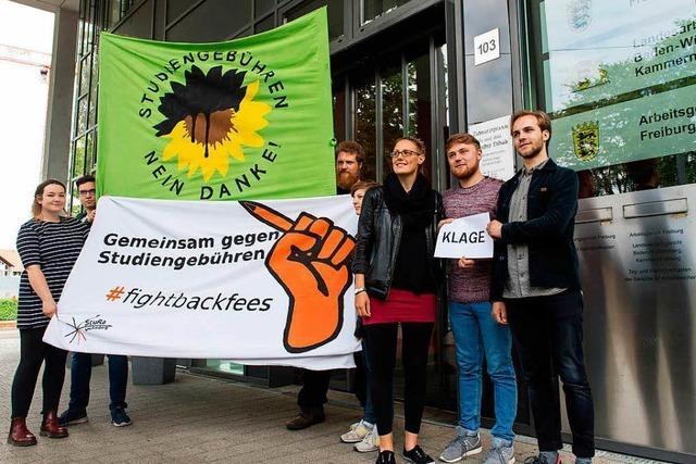 Student klagt gegen Studiengebühren in Freiburg