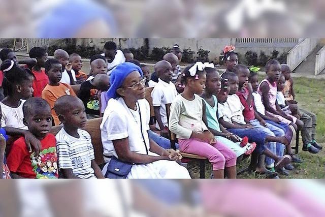 Hilfseinsatz für Waisen in Haiti