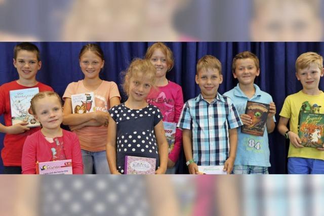 Junge Lesetalente präsentieren ihre Lieblingsbücher