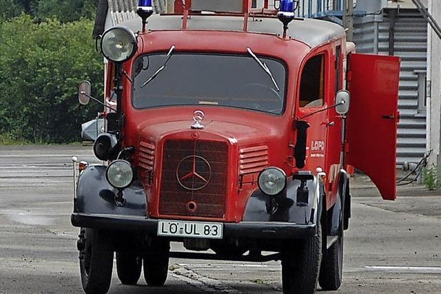 Feuerwehroldtimer der Lofo bleibt in Weil