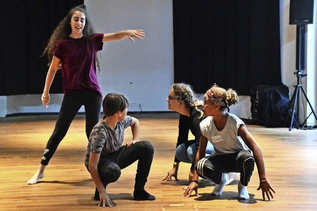 Ein Probenbesuch beim interkulturellen Schüler-Tanzprojekt in Lörrach