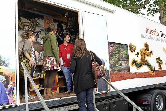 Multimediale Ausstellung über Flucht