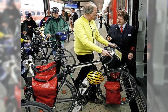 Räder im Zug bald kostenlos