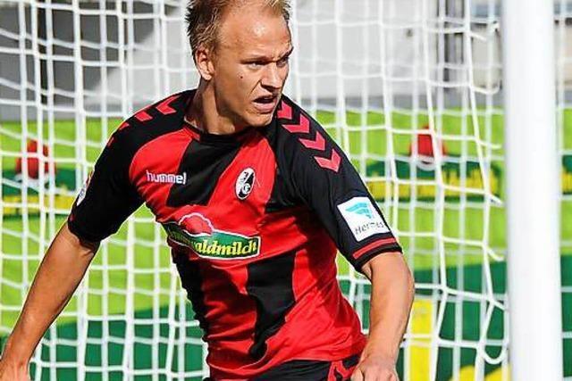 Havard Nielsen vom SC Freiburg wechselt wohl zu Fortuna Düsseldorf