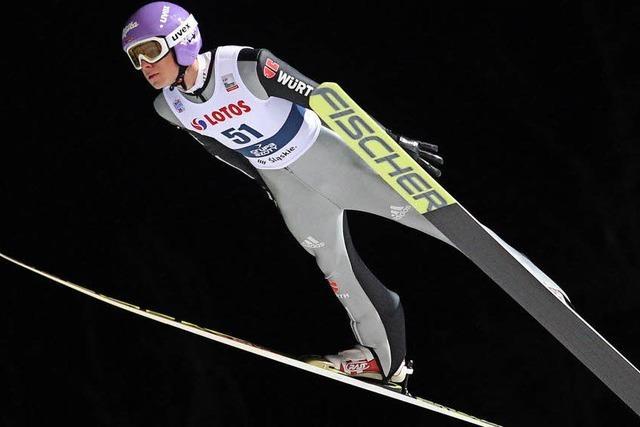 Eine kleine Revolution im Skispringen