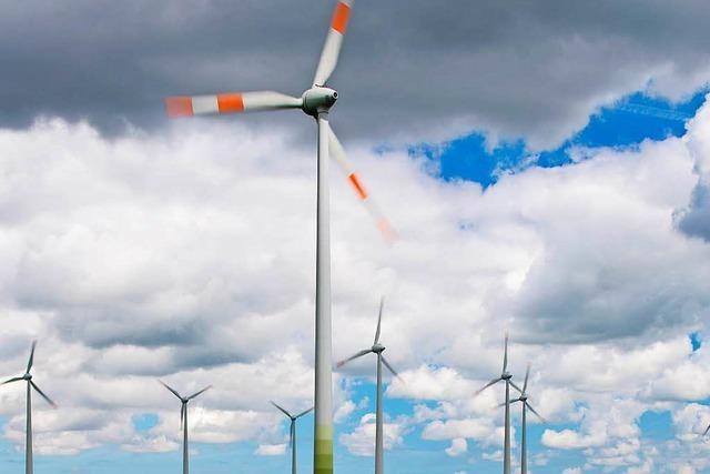 Windkraftanlagen auf Steinfirst/Rauhkasten sind offiziell in Betrieb